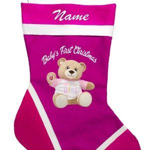 Baby First Christmas Personalized Christmas Stocki